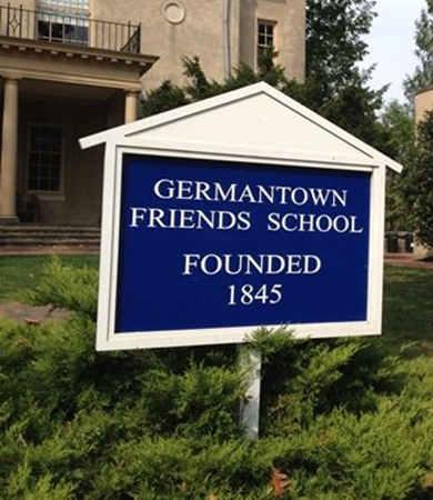 Germantown Friends School标志